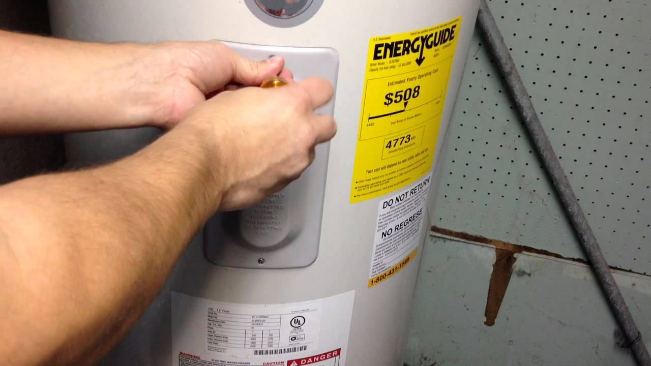 Hot Water Heater Problems >> How To Reset An Electric Water Heater In Two Easy Steps