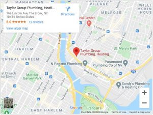 taylor group plumbing google map